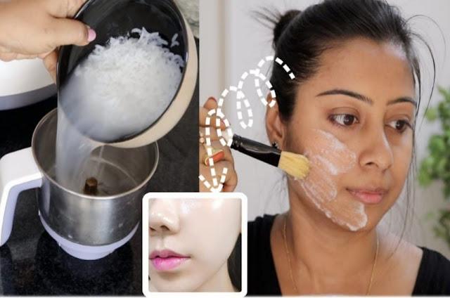La bonne façon d'utiliser l'eau de riz pour éclairer les taches de la peau