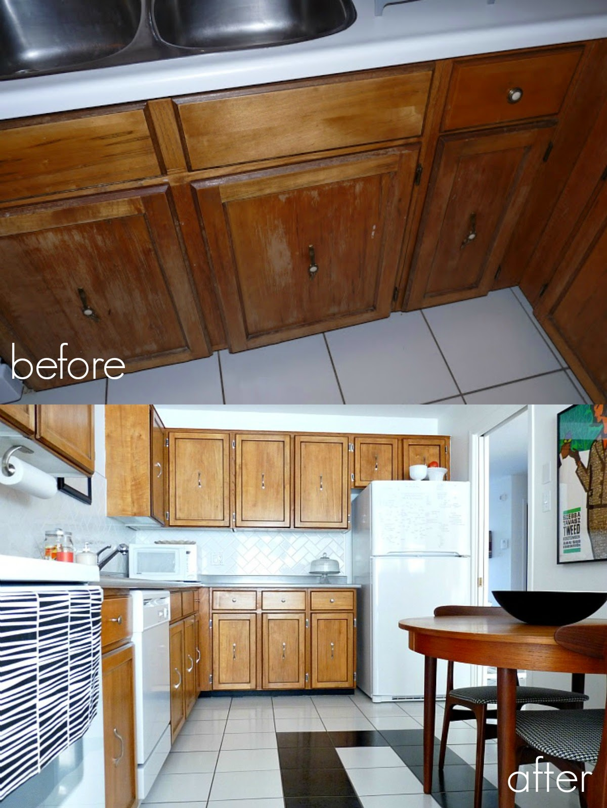 How To Refinish Kitchen Cabinets Without Stripping Desk Cabinet Refinishing 101 Latex Paint Vs Stain Rust