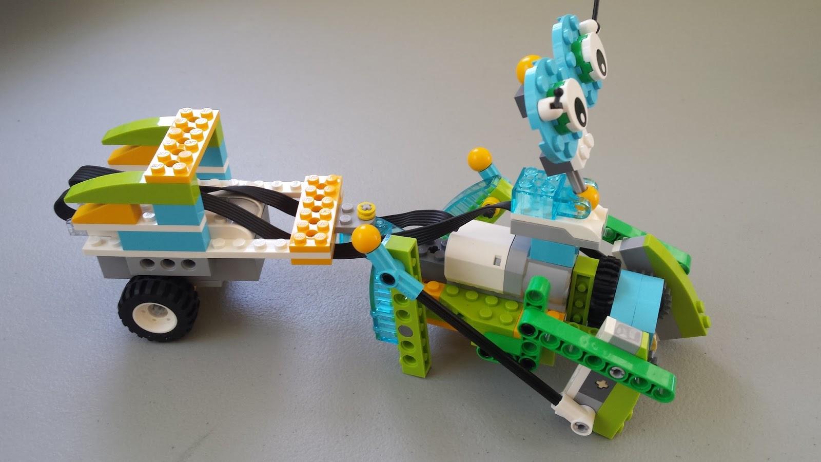 Aula Robótica Dominicana: Robótica con LEGO WEDO 2.0