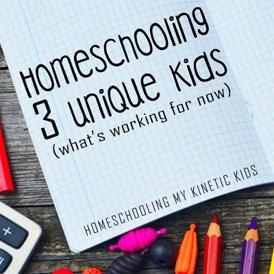 Curriculum for 3 special needs grade school kids