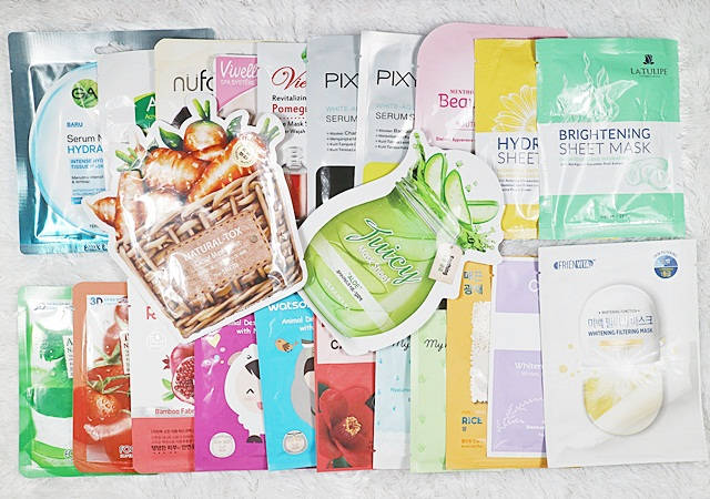 Local Brand Sheet Masks