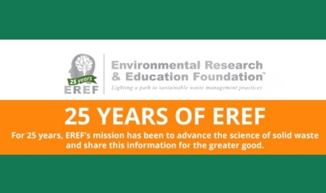 The Role of EREF in Solid Waste Management Research and Awareness