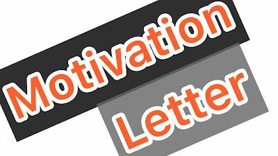 الخطاب التحفيزي – Motivation Letter