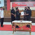 Sidang Paripurna pertanggungjawaban pelaksanaan APBD t.a 2019 Masa Persidangan, ke-3 tahun sidang 2020