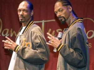 Escultura de Cera de Snoop dogg