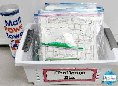 This post includes great suggestions and some free downloads for creating a challenge bin that keeps your higher math students motivated.