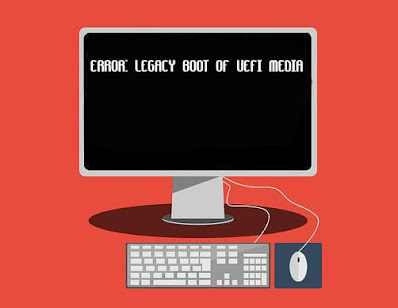 How to Fix Error Legacy Boot of UEFI Media in Windows