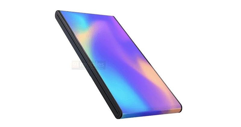 vivo foldable phone patent surfaces, sports a unique bottom-folding design