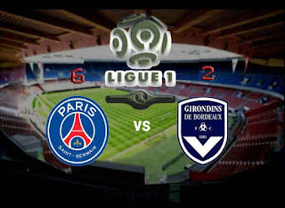 Ligue 1 Prancis PSG vs Bordeaux 6-2