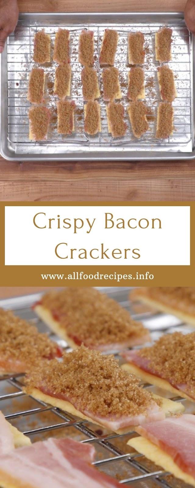 Crispy Bacon Crackers