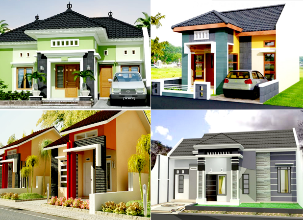 Kumpulan Desain Rumah Minimalis Type 54