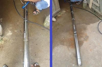 Cách khắc phục máy bơm nước giếng khoan bị hỏng