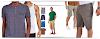 ✂3 Moldes  masculinos gratuitos: de  camiseta, regata e bermuda tamanhos P-M-G✂