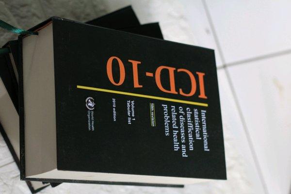 Kode ICD, ICD 10, Kode ICD 10