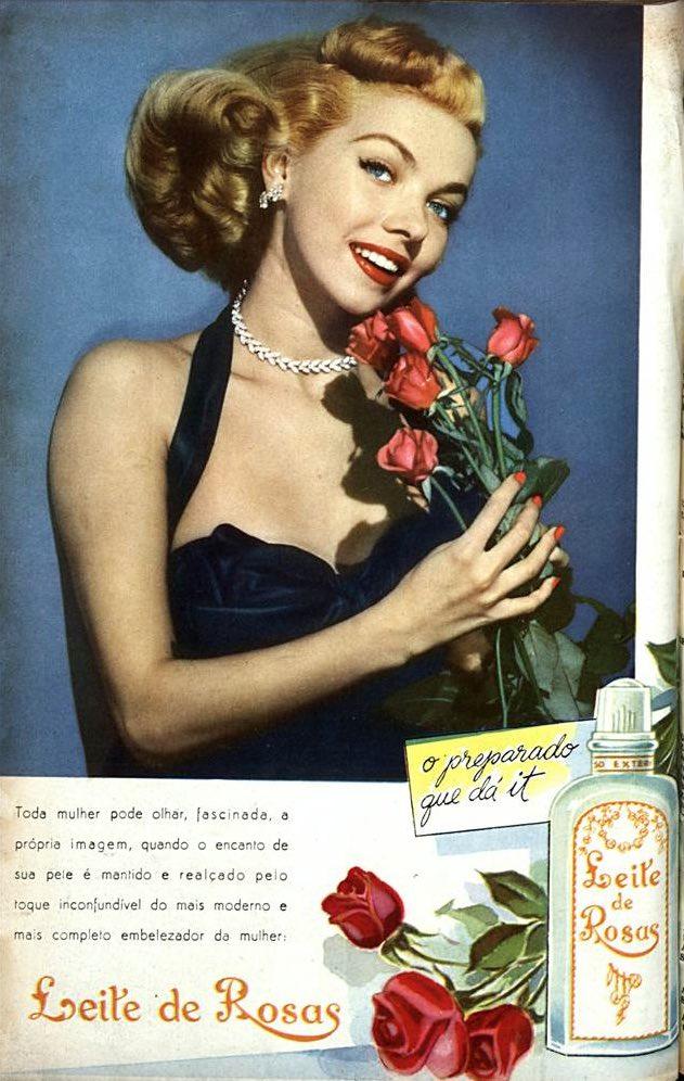 Propaganda antiga do Leite de Rosas veiculado em 1952