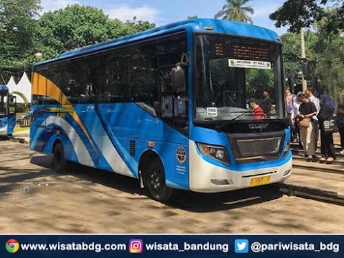 Bus TMB Jurusan Stasiun Bandung - Antapani