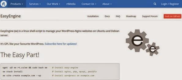 EasyEngine command line tool for WordPress