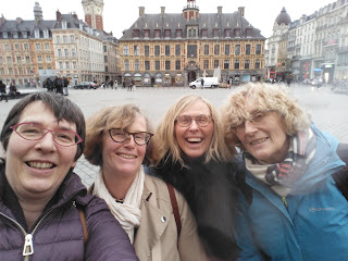 4 sisters in Lille, France