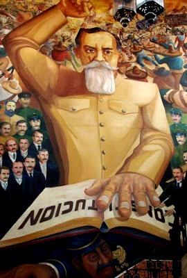 Mural de Venustiano Carranza