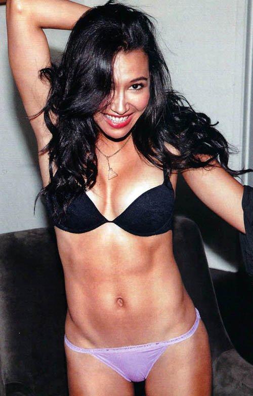 Bikini Celebrities: Naya Rivera Covers FHM November 2011