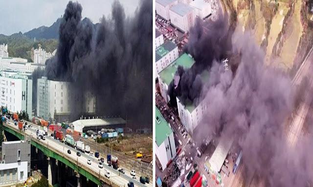 كوريا: سيجارة مهاجر تونسي تورطه في حريق تسبب في خسائر بـ57 مليون دولار