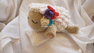 crochet lamb toy pattern