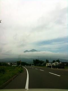 岩木山遠景