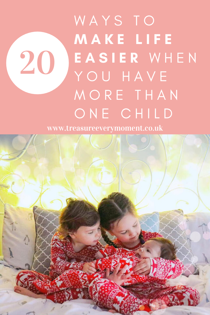 PARENTHOOD: 20 Ways to Make Life Easier when you have More than One Child