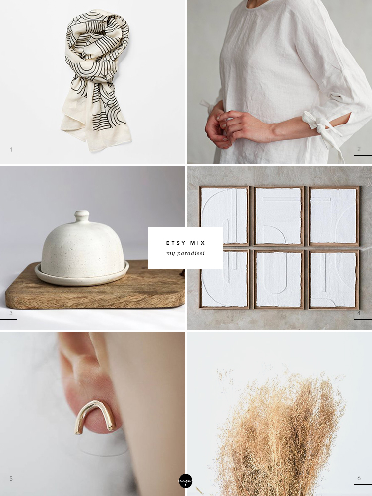 ETSY MIX of the week curated by Eleni Psyllaki for My Paradissi