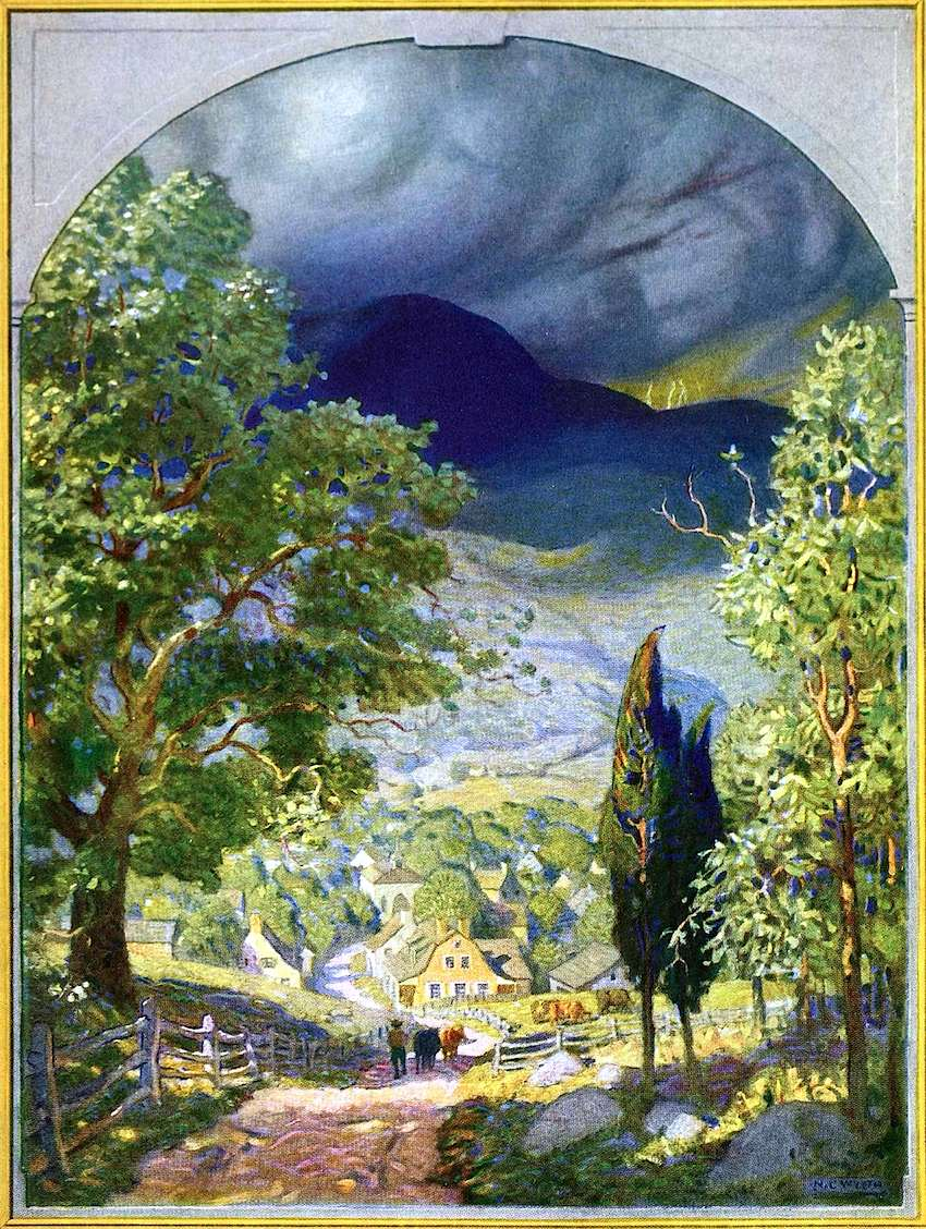 NC Wyeth, gathering storm