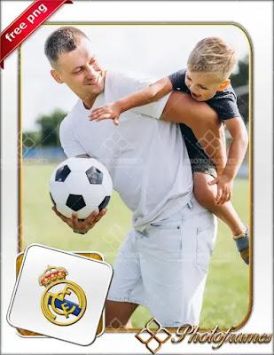 Marco para hacer fotomontajes del Real Madrid