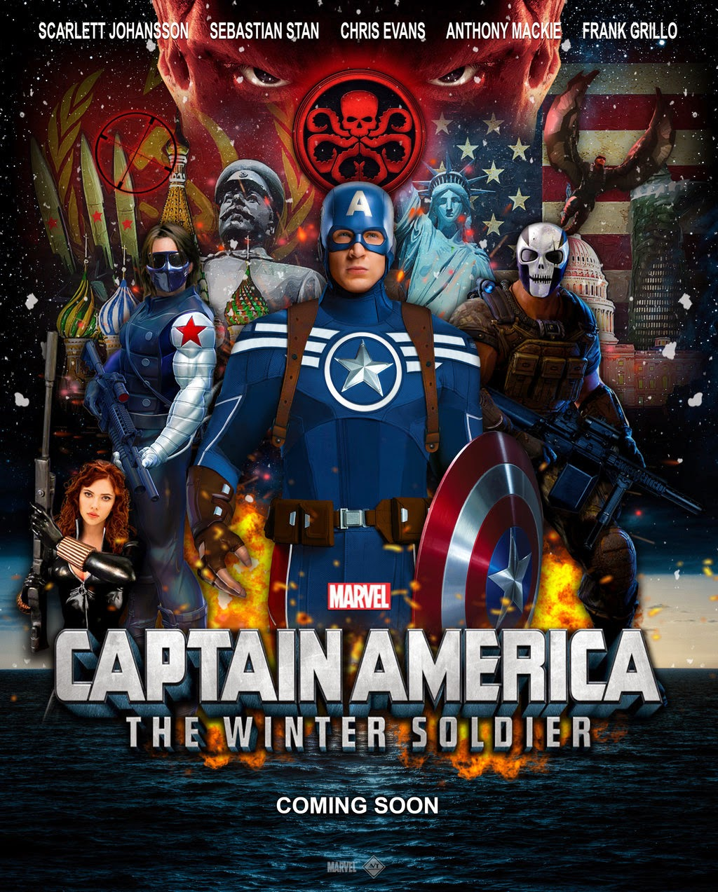 Captain America: The Winter Soldier is a superhero movie MARVEL