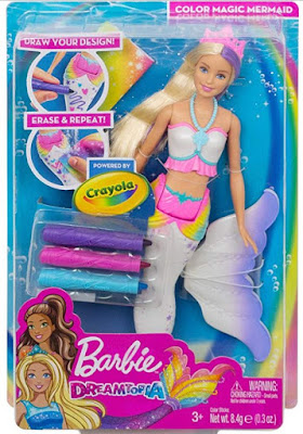 Barbie Crayola Mermaid 2019