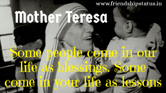 Mother Teresa Quotes in English