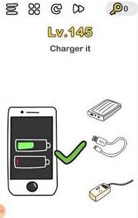 Charger Ponsel Brain Out