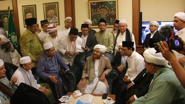 Majelis Al-Muwasholah Ungkap Kecintaan Habib Umar kepada NU dan Indonesia
