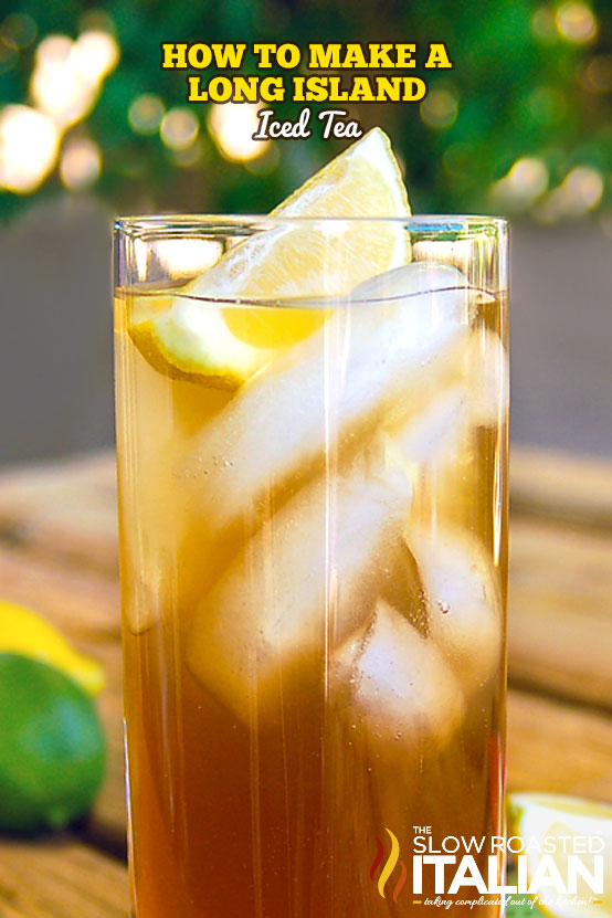 how to make a long island iced tea in a glass