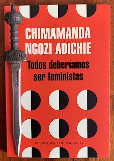 Portada del libro Todos deberíamos ser feministas, de Chimamanda Ngozi Adichie