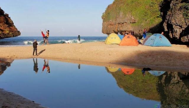 camping-di-pantai-greweng