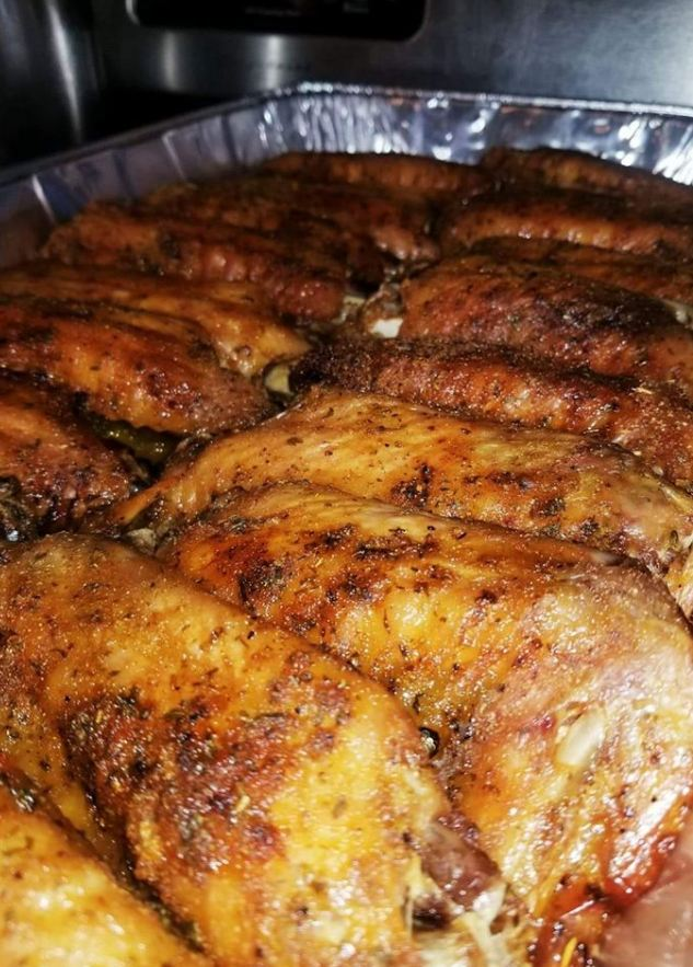 Baked Turkey Wings