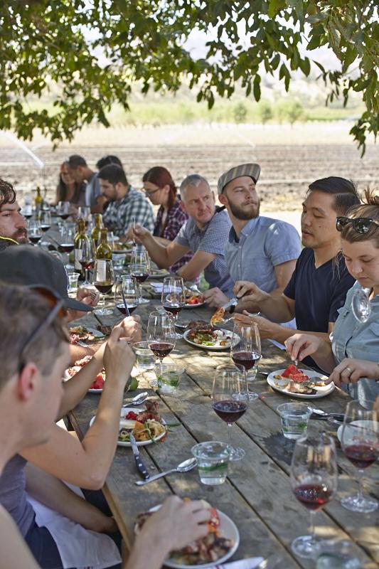 Nopalize Seasons farm picnic Riverdog Farm