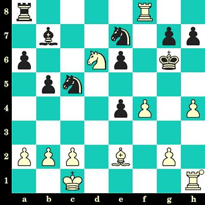 Les Blancs jouent et matent en 2 coups - Isaias Pleci vs Lucius Endzelins, Buenos Aires, 1939