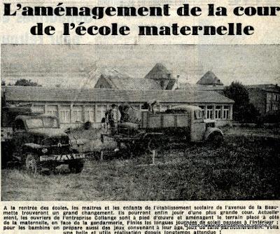 Ecole la Beaumette, Riom, 1963.