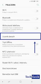 s9+ licznik danych