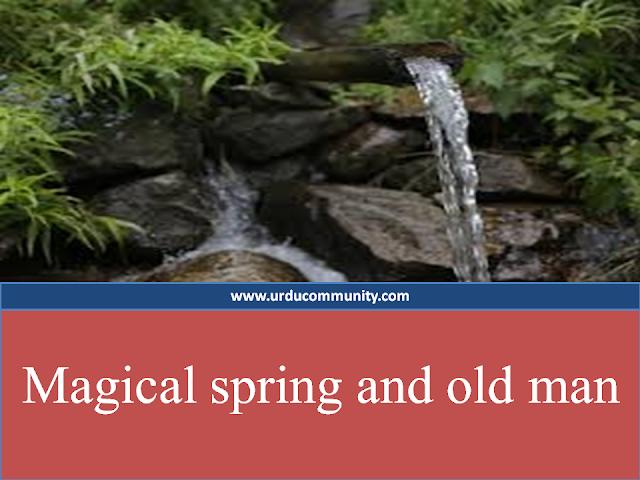 water spring-kids story