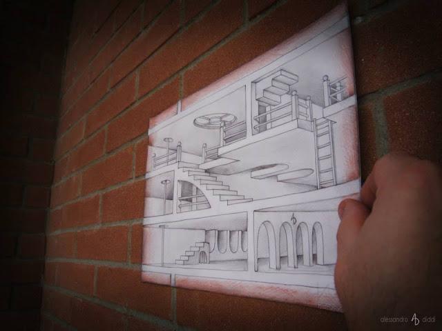 ilusi gambar tiga dimensi yang keren dan menakjubkan serta kreatif-27