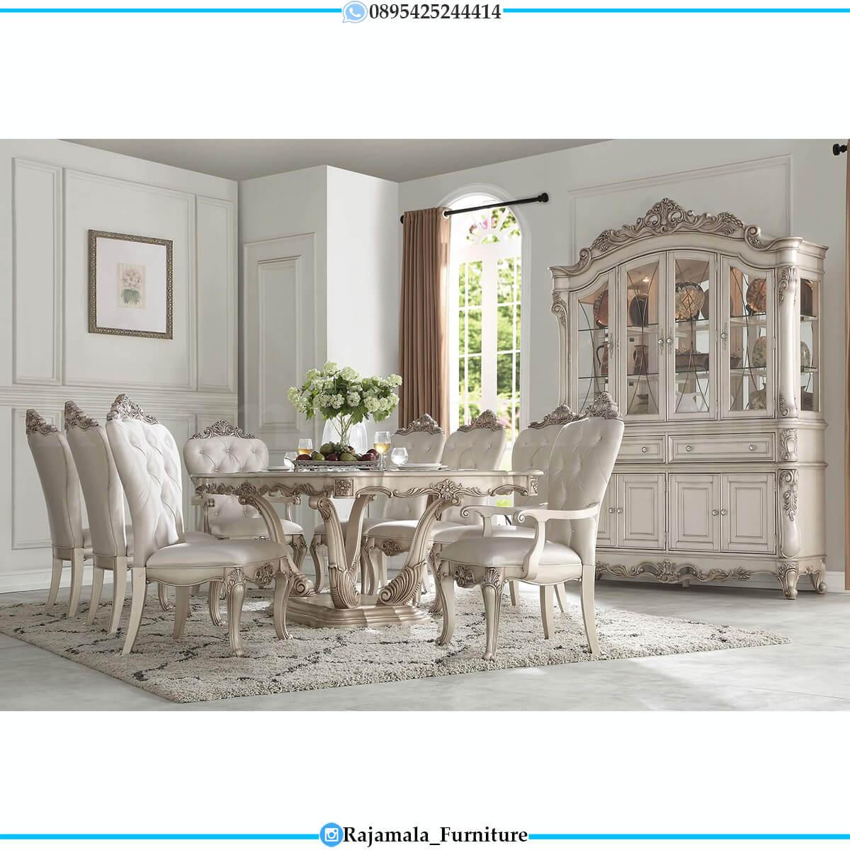 Meja Makan Mewah Jepara Furniture Luxury Classic New Released RM-0714