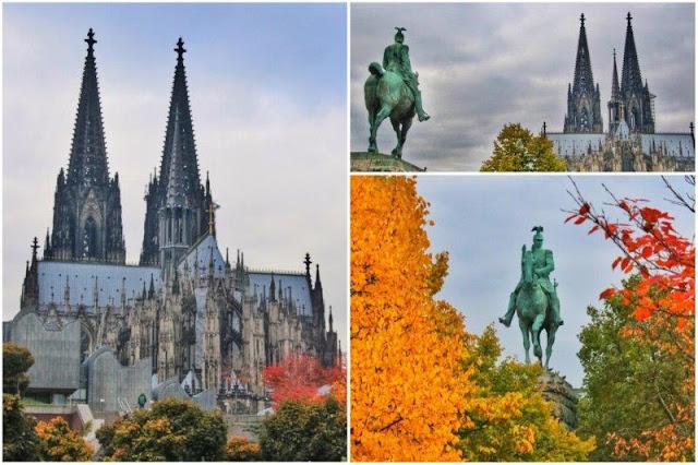 Catedral de Colonia Koln – Estatua ecuestre del Kaiser Wilhelm II