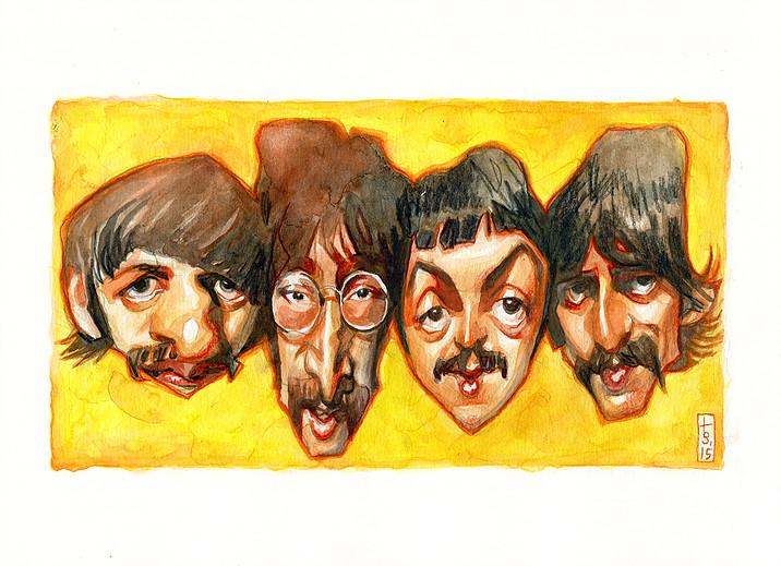 The Beatles por Bruno Tesse