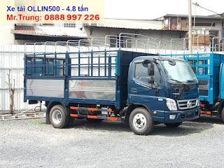 xe-tải-thaco-ollin-500-tải-trọng-5-tấn-thùng-dài-4.35-mét